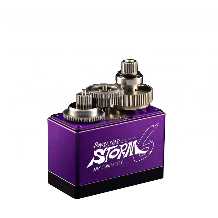 Сервопривод BL стандарт 80г Power HD STORM-6 8.5кг/0.05сек цифровой
