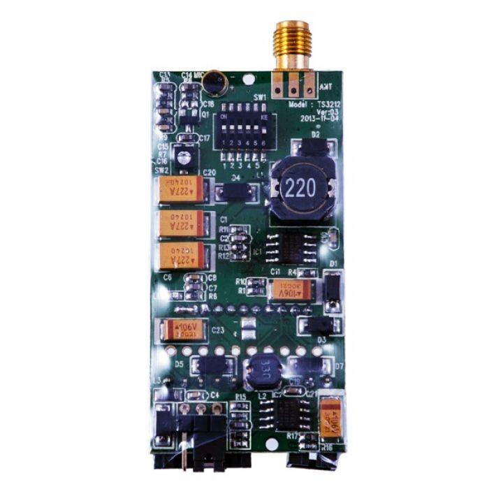 Видеопередатчик HIEE 5.8GHz TS3202 200mW 3S-6S 32 канала для FPV систем 800м