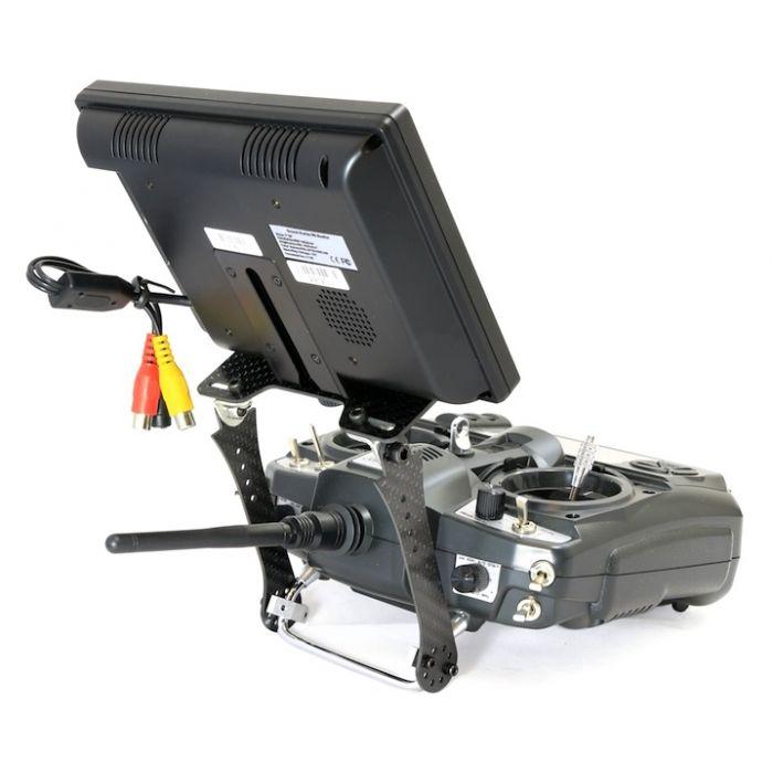 Крепление FPV монитора к передатчику DYS карбоновое