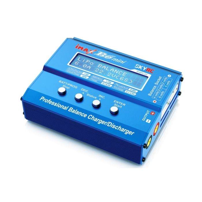 Зарядное устройство SkyRC iMAX B6 mini 6A/60W без/БП универсальное