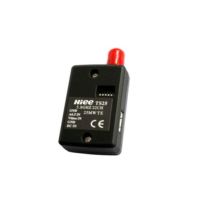 Видеопередатчик микро HIEE 5.8GHz TS25 25mW 22 канала для FPV систем 350м