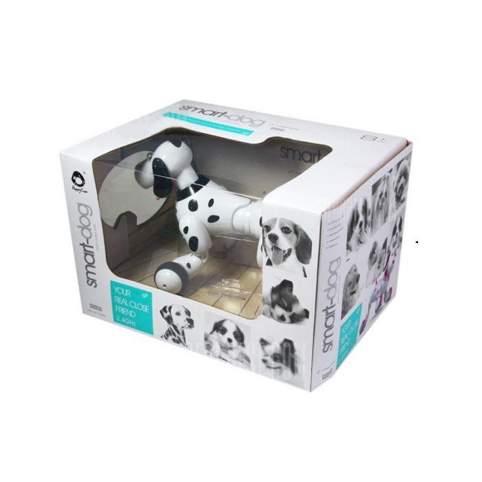 Робот-собака р/у HappyCow Smart Dog (черный)