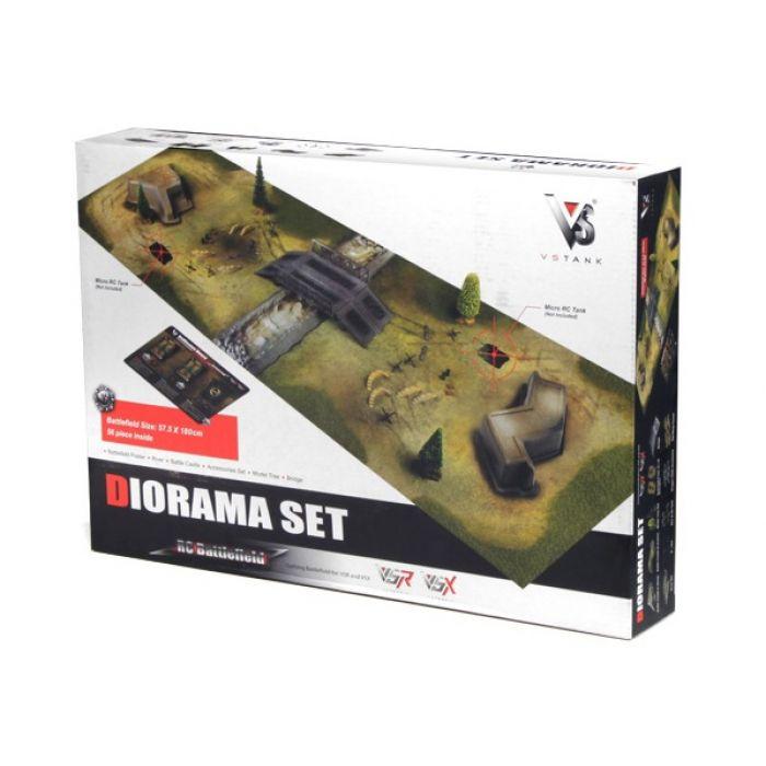 Диорама VSTANK для танкового боя 58x180см