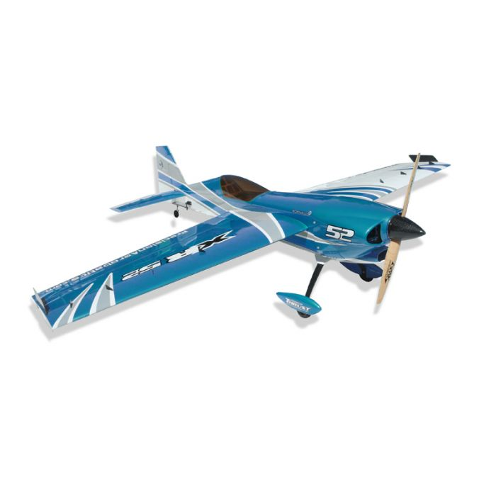 Самолёт р/у Precision Aerobatics XR-52 1321мм KIT (синий)