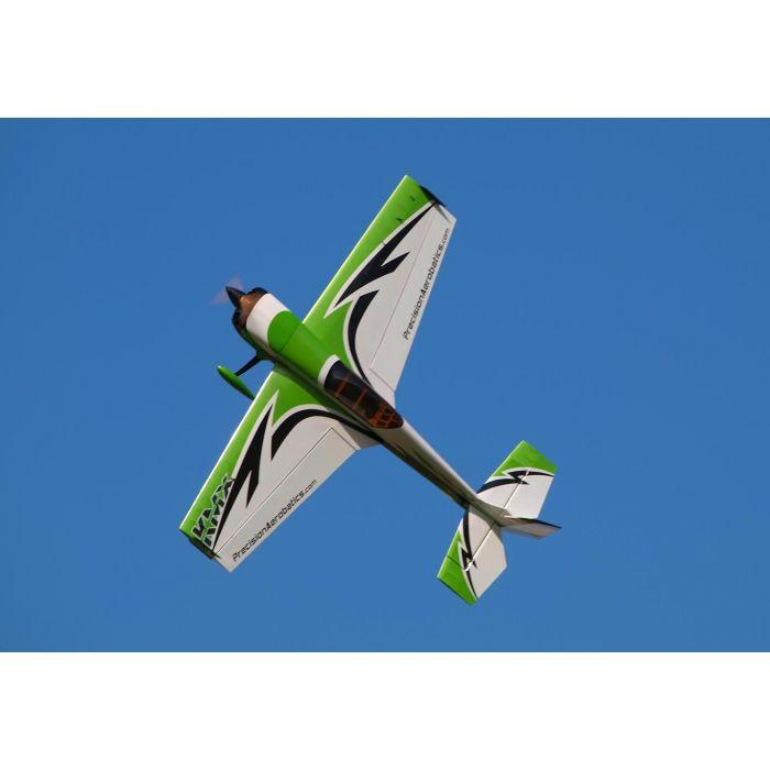 Самолёт р/у Precision Aerobatics Katana MX 1448мм KIT (зеленый)