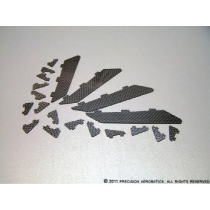 Завихрители PA Addiction X карбоновые комплект 20шт