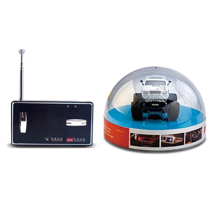 Джип микро р/у 1:58 GWT 2207 (черный, 35MHz)