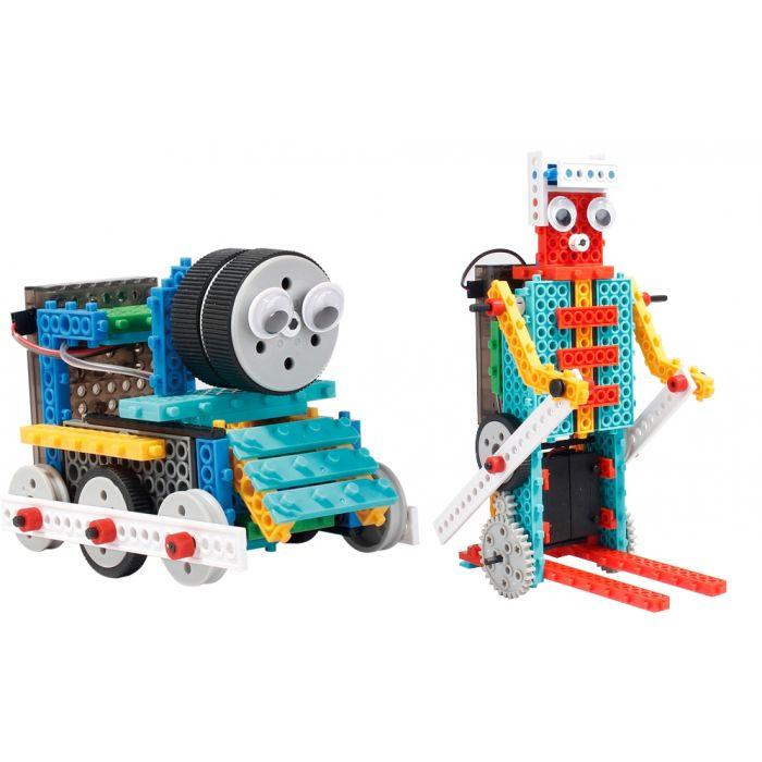 Конструктор на и/к LongYeah R722 4-в-1 (паровозик, машинка, лыжник, робот)