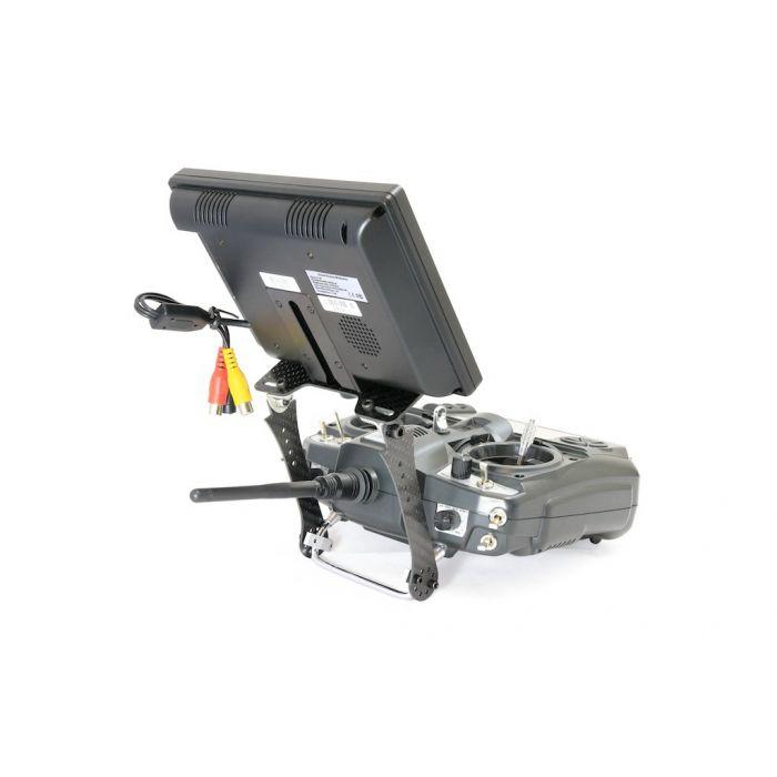 Крепление FPV монитора к передатчику HIEE карбоновое