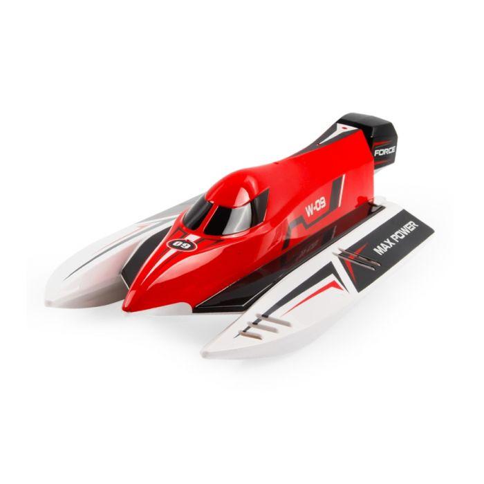 Катер на р/у WL Toys WL915 F1 High Speed Boat бесколлекторный (красный)
