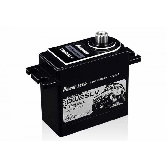 Сервопривод стандарт 80г Power HD DW-25LV 25кг/0.11сек цифровой с влагозащитой