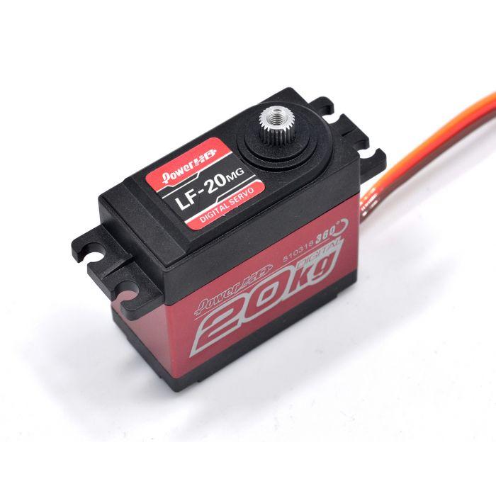 Сервопривод стандарт 60г Power HD LF-20MG 360° 20кг/0.16сек цифровой
