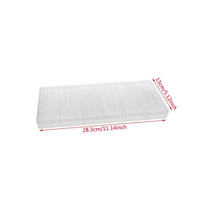 Термоусадка прозрачная 1.5-10мм набор 150шт