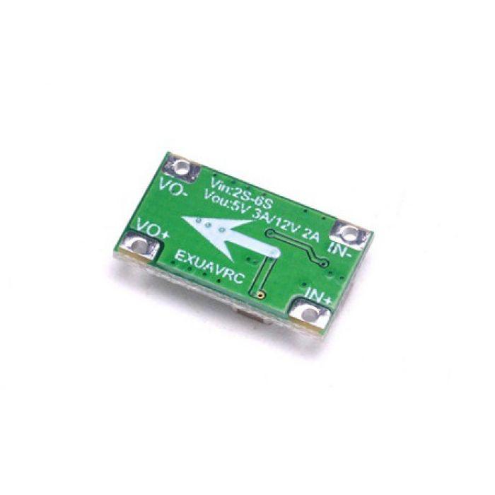Модуль питания BEC микро 2-6S 5V3A/12V2A