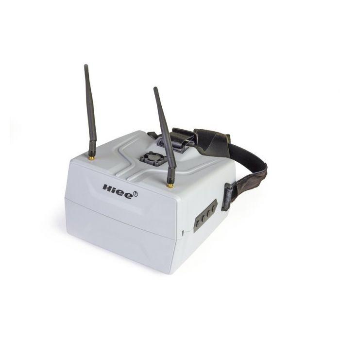 """Шлем FPV HIEE HIVR702 7"""" 800x480 5.8GHz 40 каналов диверсити"""